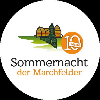 10 Jahre Sommernacht der Marchfelder Logo